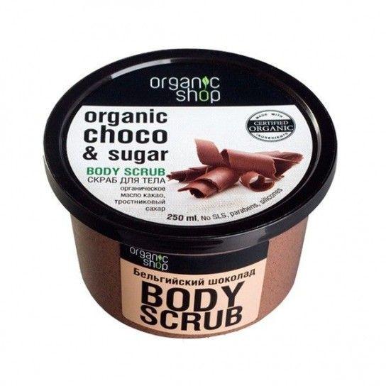 Exfoliante corporal de Chocolate Belga