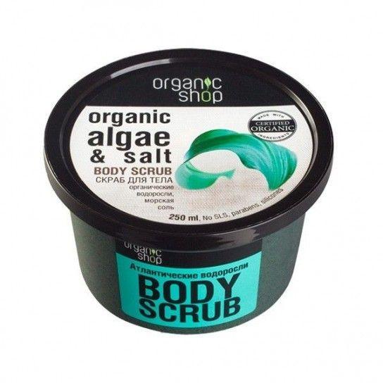 Exfoliante corporal de Algas marinas ORGANIC SHOP