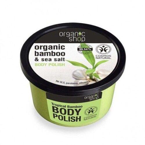 Exfoliante corporal de bambu bio Organic Shop