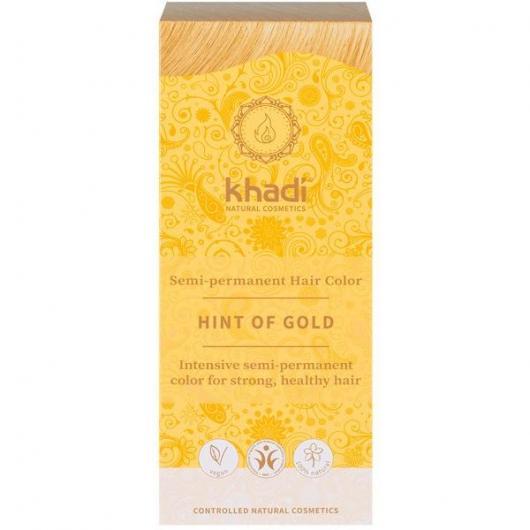 tinte natural ayurveda rubio dorado khadi