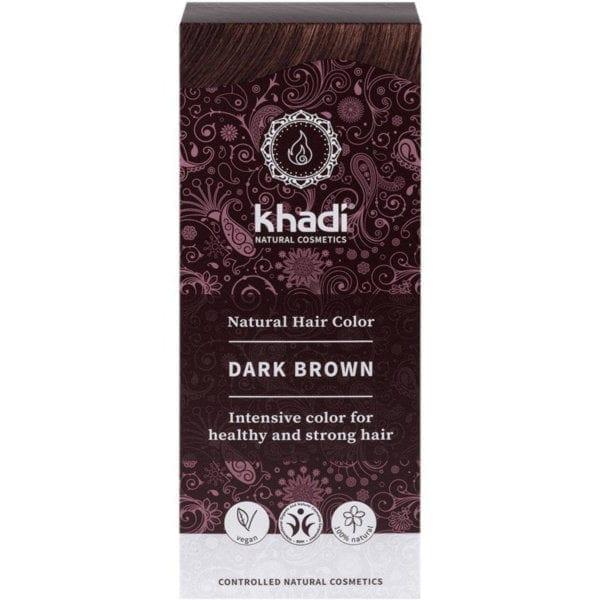 Tinte Natural Castaño Oscuro Khadi