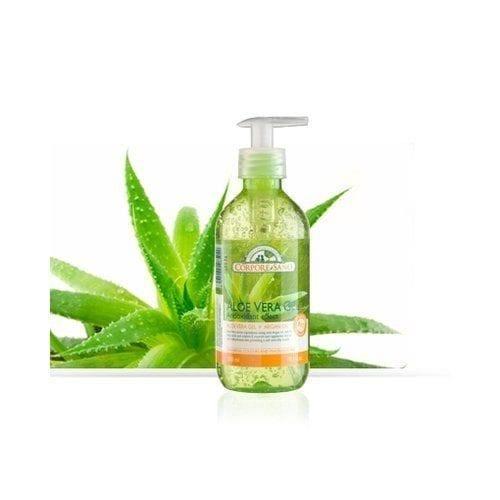 Gel puro de Aloe Vera y Argán Corpore sano