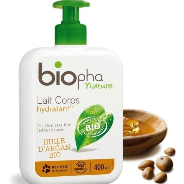 Leche hidratante corporal Biopha