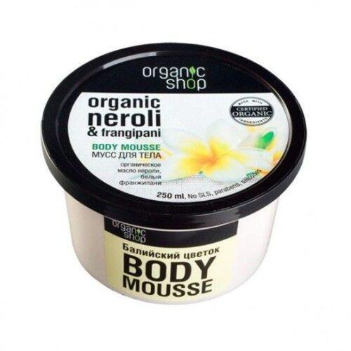 Mousse corporal hidratante Organic Shop