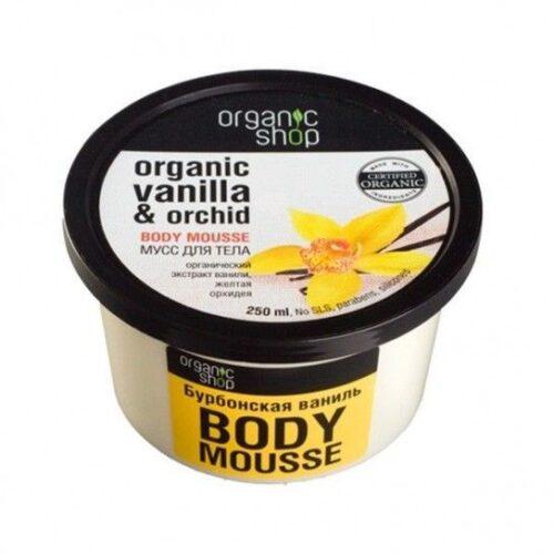 Mousse hidratante corporal de Vainilla Organic Shop
