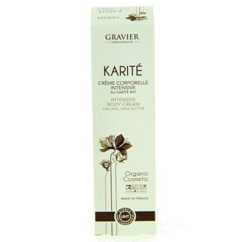 Crema corporal intensiva karite bio 150 ml GRAVIER