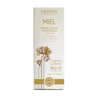 crema facial nutritiva de miel 50ml laboratorios gravier