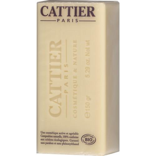 jabón de arcilla blanca y karité piel seca Cattier