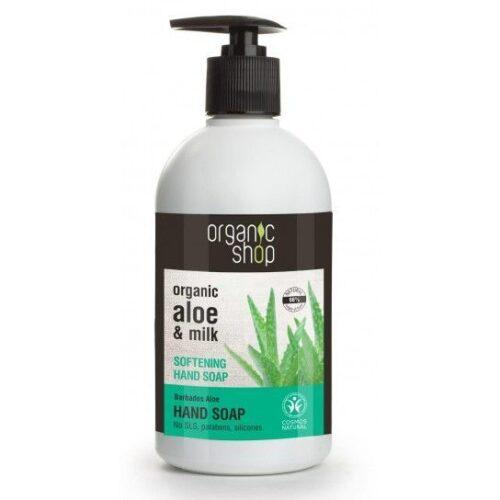 Jabón de manossuavizantealoe vera Organic Shop