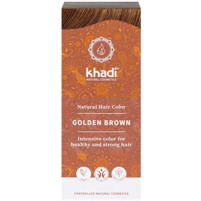tinte natural ayurveda castaño claro dorado khadi
