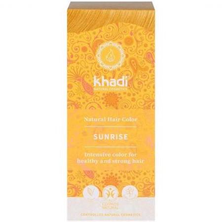 tinte natural ayurveda rubio miel amanecer khadi
