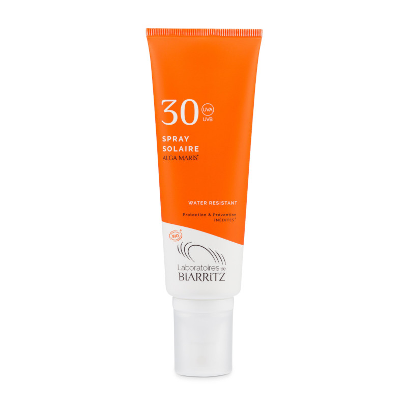 Spray solar protector natural cara y cuerpo SPF30 ALGA MARIS