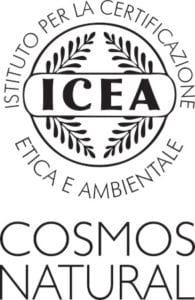 certificado icea cosmos natural