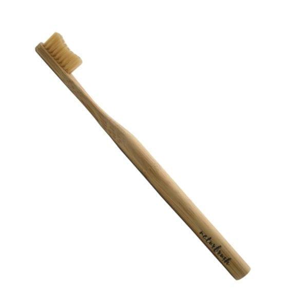 cepillo de dientes natural de bambu naturbrush