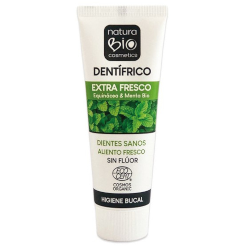 pasta de dientes extra frescor menta natura bio cosmetics