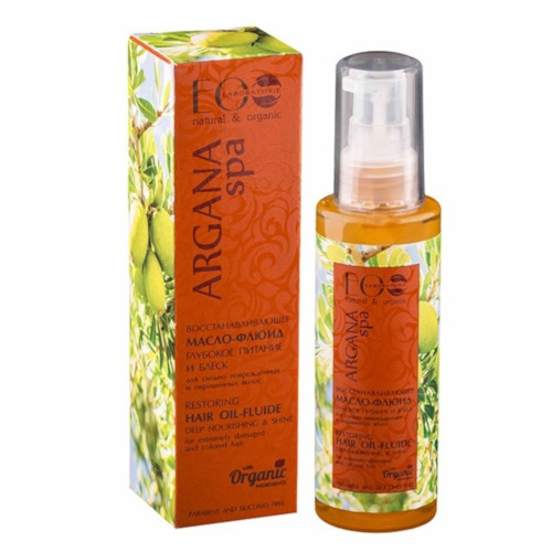 aceite fluido capilar restaurador y brillo argan spa eo laboratoire 100ml