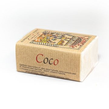 jabon artesanal ecologico de coco yerbas vivas 100gr
