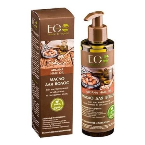 aceite capilar organico con aceite de argan restaurador eo laboratorie