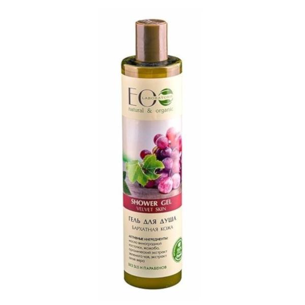 gel de ducha organico nutritivo e hidratante piel suave eo laboratorie 350ml