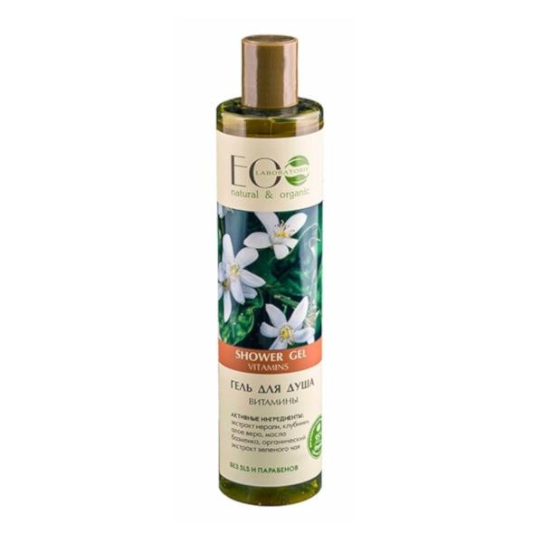 gel de ducha natural vitaminas para la piel eo laboratorie