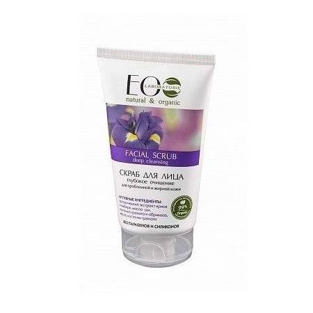 gel exfoliante facial natural limpieza profunda eo laboratorie 150ml