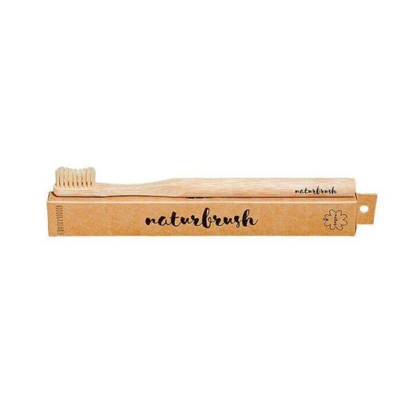 cepillo de dientes de bambú adulto naturbrush
