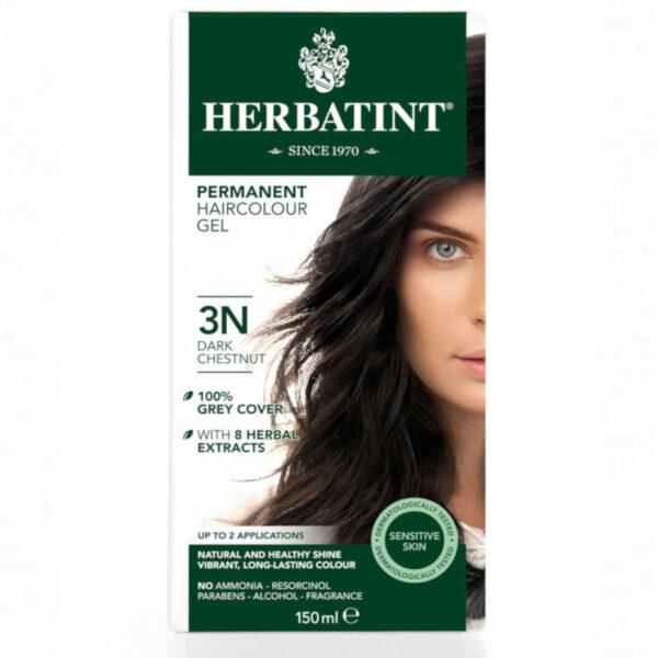 3N castaño oscuro tinte natural herbatint