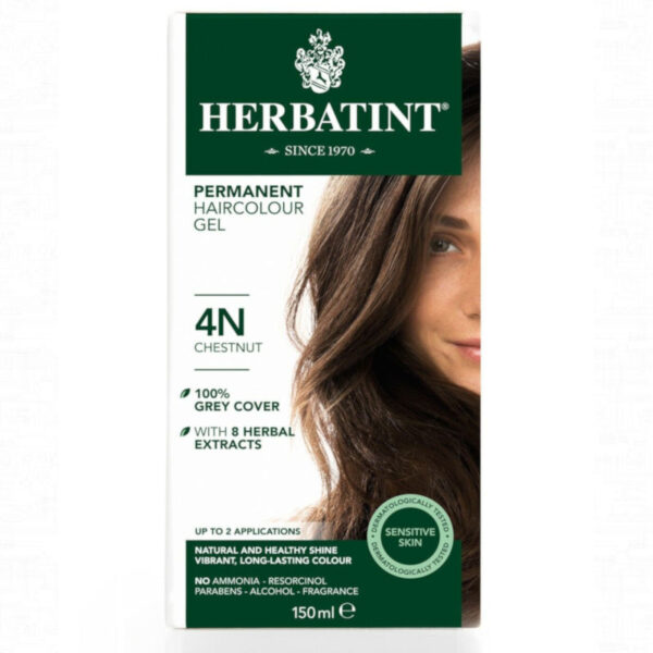 4N castaño tinte natural herbatint
