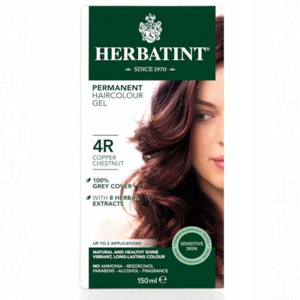4R Castaño cobrizo Tinte natural Herbatint