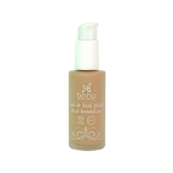 base de maquillaje fluida 04 beige dore vegana natural Boho