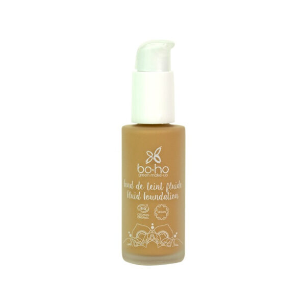 base de maquillaje fluida 05 miel vegana natural Boho
