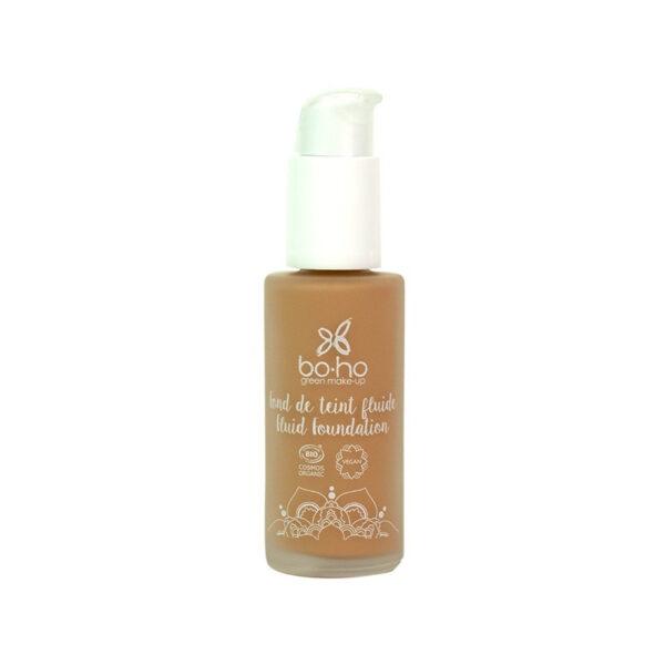 base de maquillaje fluida 06 caramel vegana natural Boho