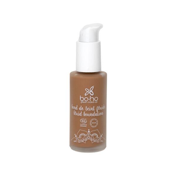 base de maquillaje fluida 08 brun froid vegana natural Boho