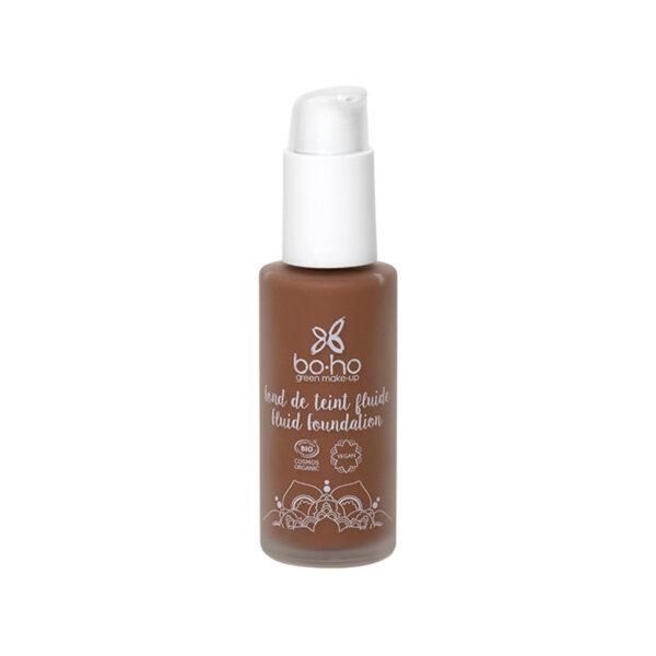 base de maquillaje fluida 09 cacao vegana natural Boho