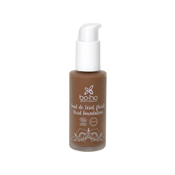 base de maquillaje fluida 10 café con leche vegana natural Boho