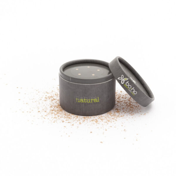 polvo suelto base de maquillaje mineral vegano boho green make up