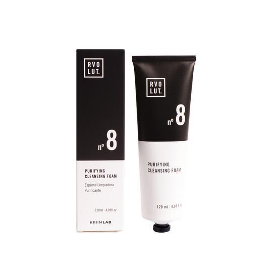 espuma limpiador facial natural en crema rvolut evolut