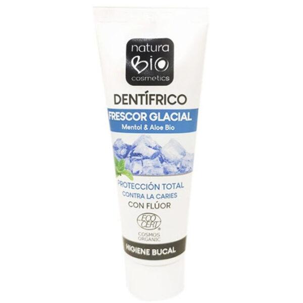 pasta de dientes natural frescor glacial con fluor natura bio 75 ml